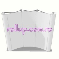Pop-up banner 3x3 unit CURB cu troler mic